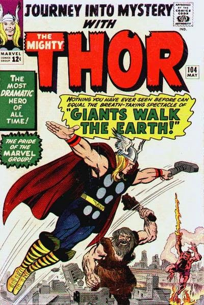 Journey into Mystery #104, Thor