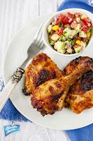 Kurczak w pomidorowej salsie