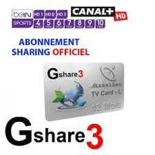 Abonnement 12 Mois serveur Gshare 3 / SDS - Recepteurs iptv oscam suptv