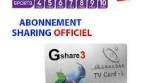 Abonnement 12 Mois serveur Gshare 3 / SDS - Recepteurs iptv