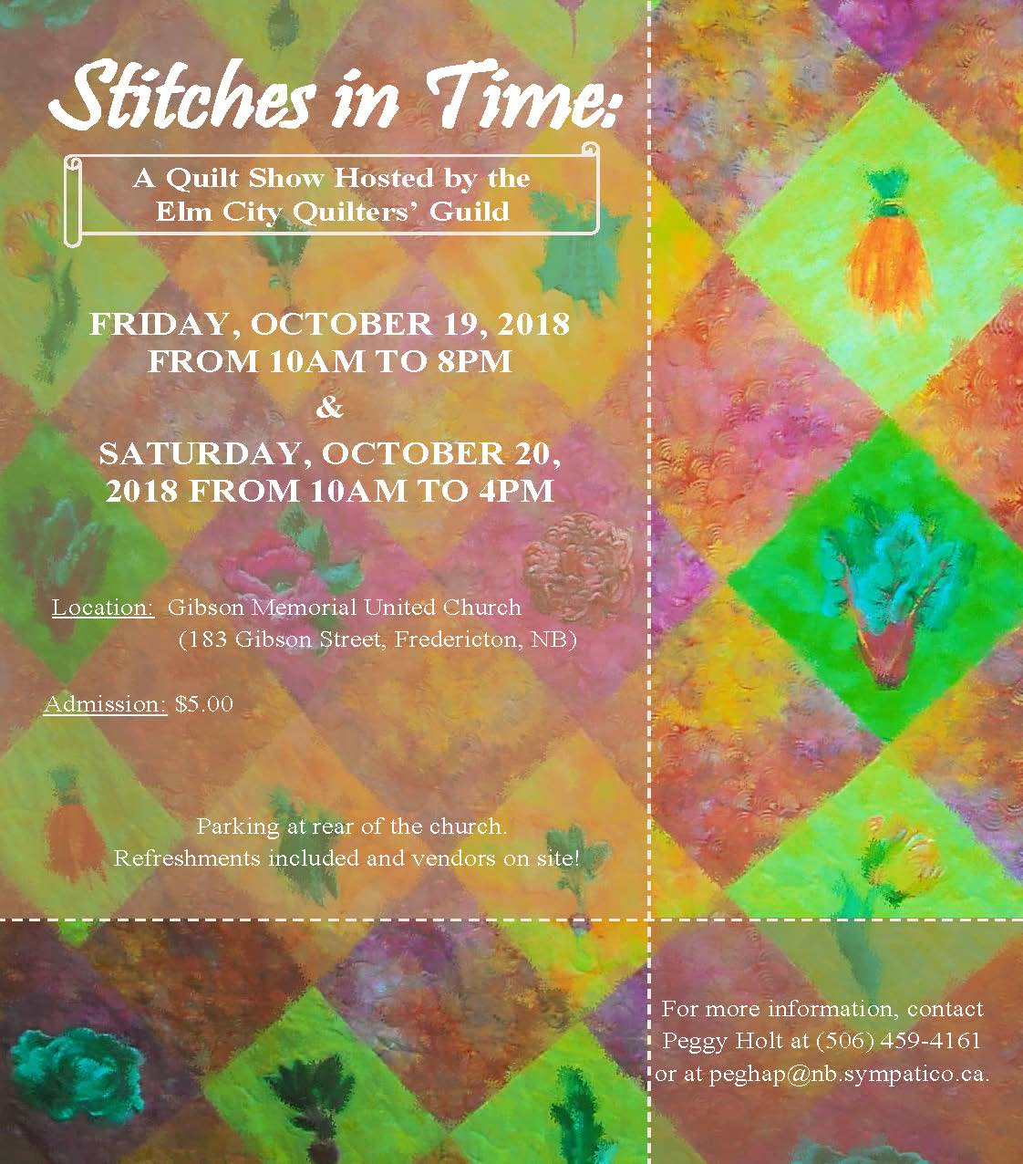Fredericton Quilters' Guild: 2018