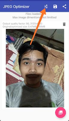 Memperkecil Ukuran Foto Menggunakan Hp Android 3