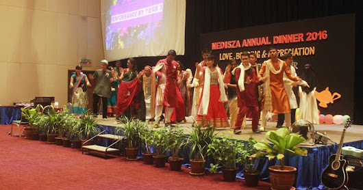 MediSZA Appreciation Night 2016 : Arabian and Bollywood Night ~ Medical Students Association of UniSZA (MEDISZA)