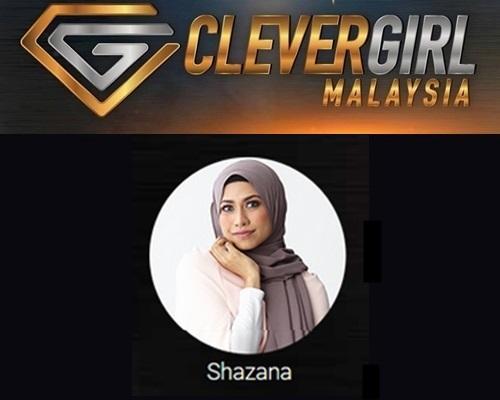 Biodata Shazana Clever Girl Malaysia 2017, profile Shazana, biografi, profil dan latar belakang Shazana Clever Girl Malaysia TV3 2017 musim 2, foto, gambar Shazana Clever Girl Malaysia musim kedua