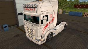 Halling Frakt skin & trailer for Scania RJL
