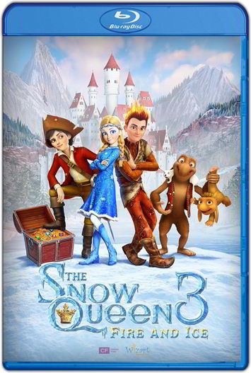 The Snow Queen 3: Fire and Ice (2016) HD 1080p y 720p Latino