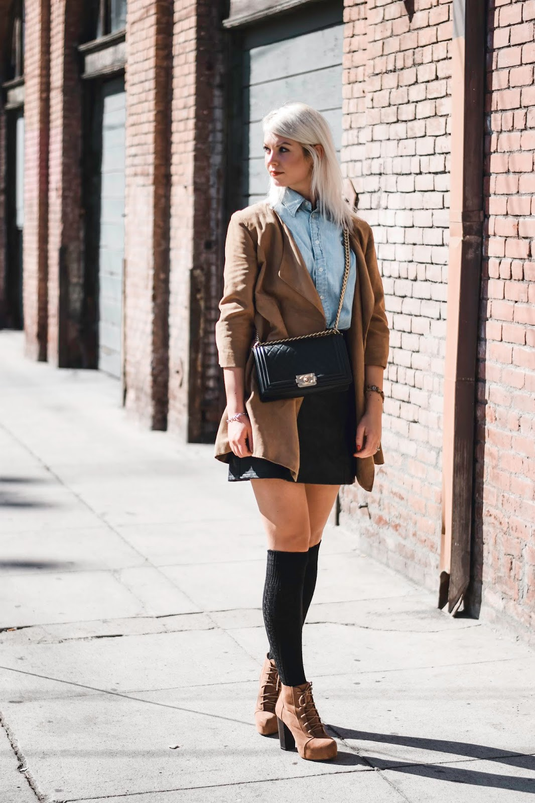 how to style suede outfit