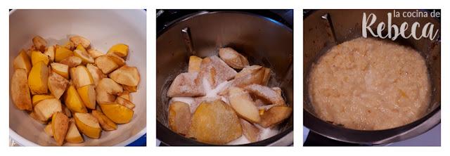 Carne (o dulce) de membrillo con Thermomix 01
