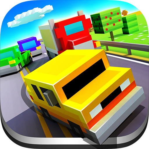 تحميل لعبه Blocky Highway: Traffic Racing مهكره