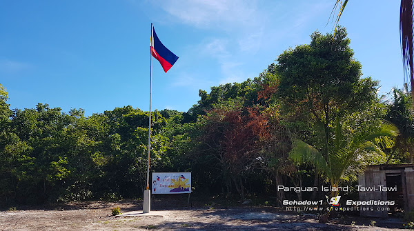 Flagpole at Panguan Island - Schadow1 Expeditions