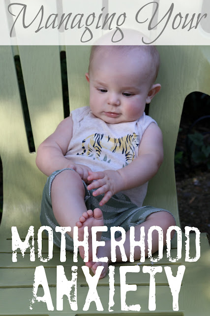 If you're suffering from motherhood anxiety or postpartum depression, you need to read this!