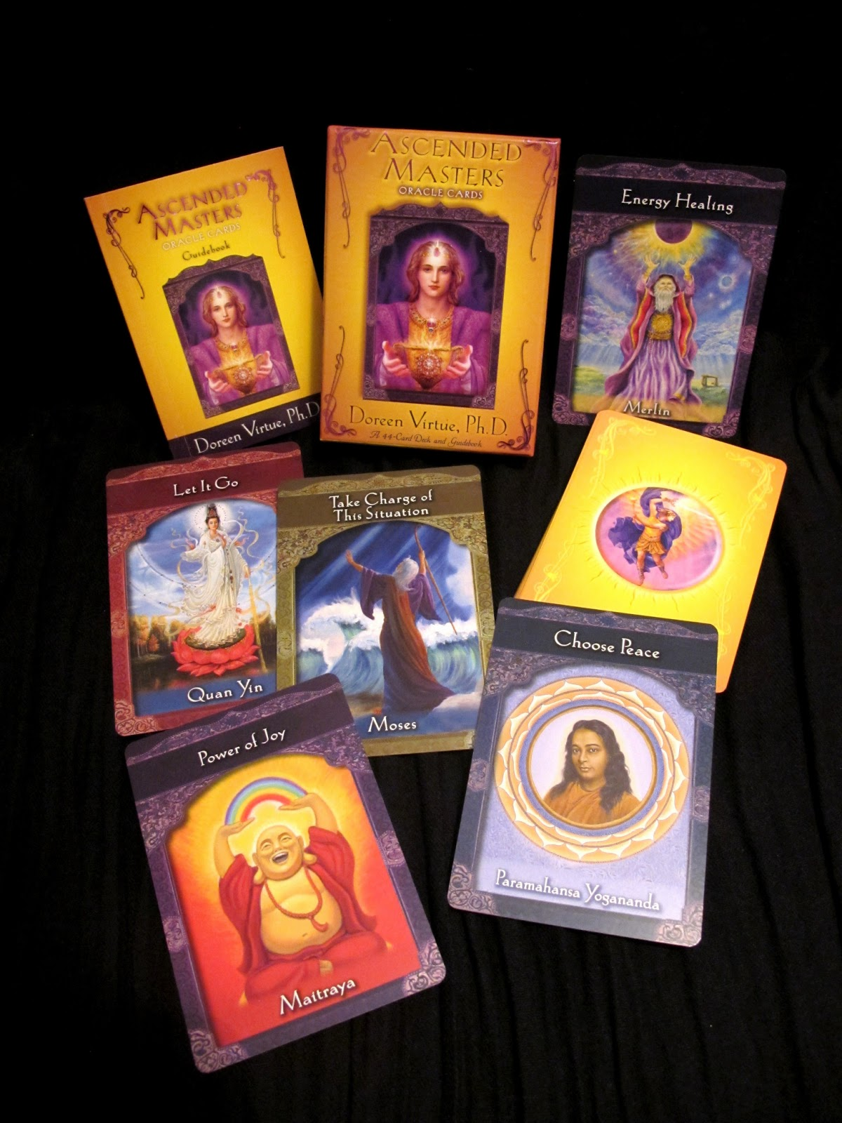 Inspired Pathways of Being: Review: Ascended Masters oracle