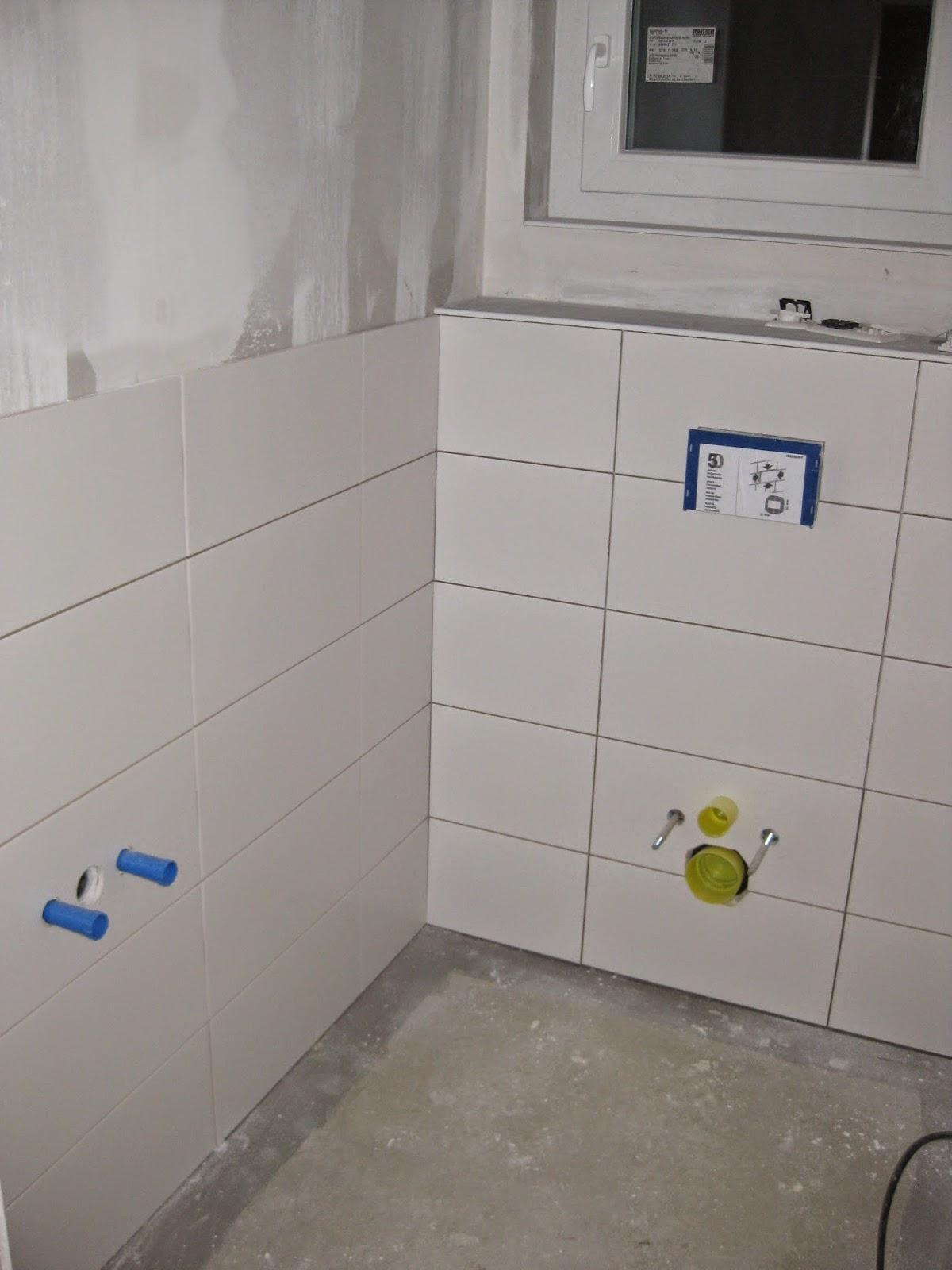 wir bauen ein okal haus b der sind so gut wie gefliest. Black Bedroom Furniture Sets. Home Design Ideas