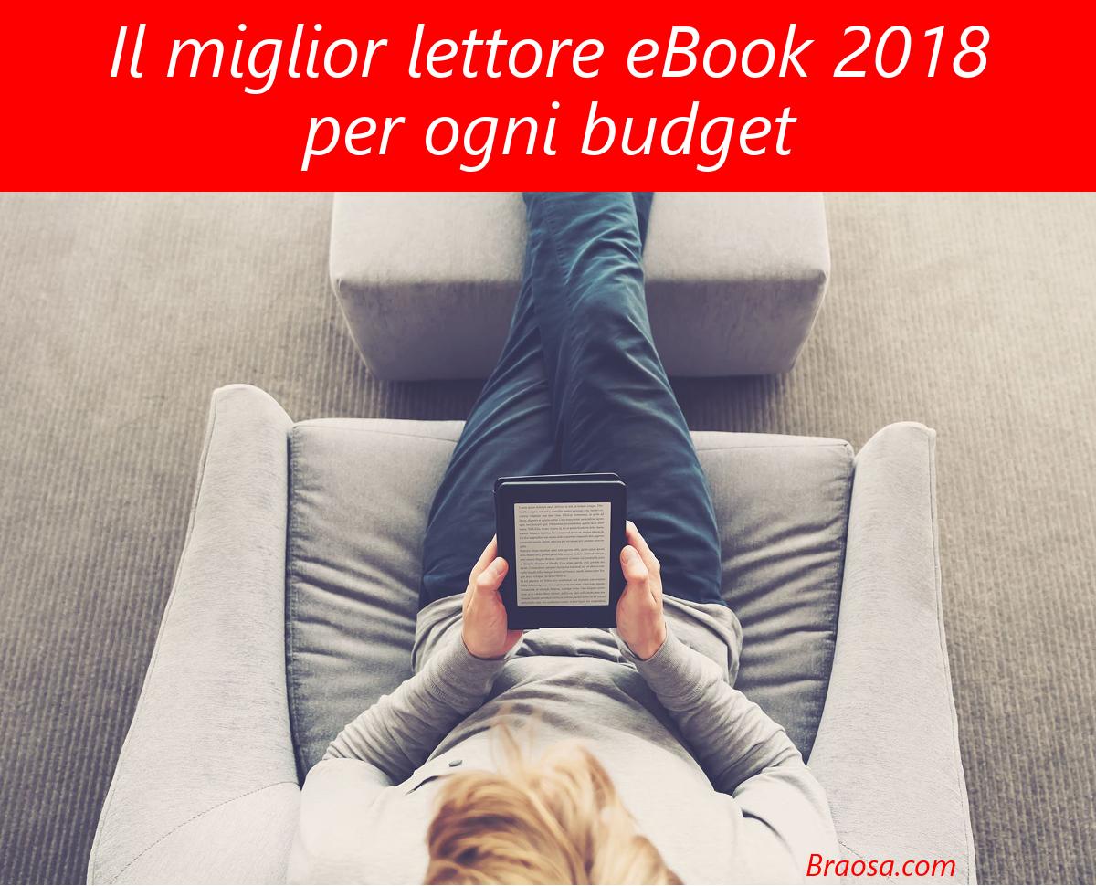 Migliore lettore ebook 2018