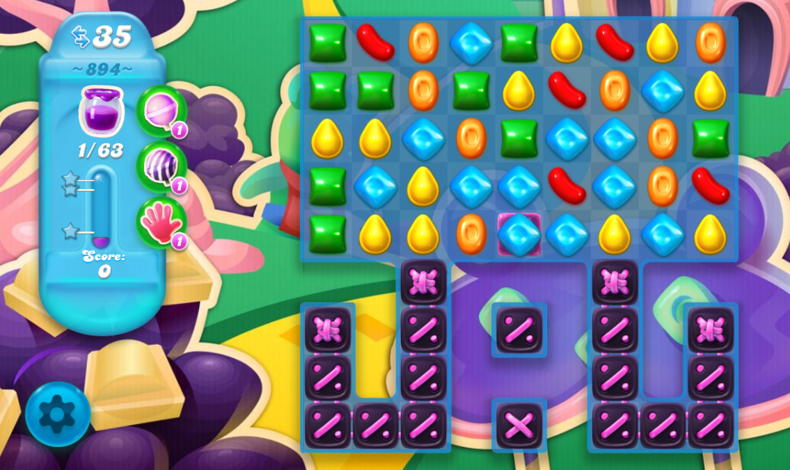 Candy Crush Soda Saga 894