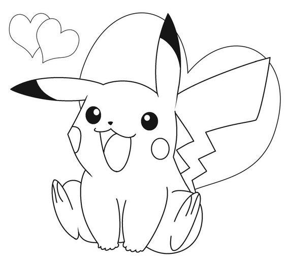 Tranh tô màu Pokemon 82