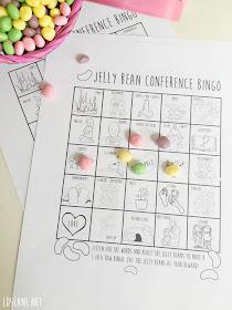 Jelly Bean LDS General Conference Bingo - ldslane.net