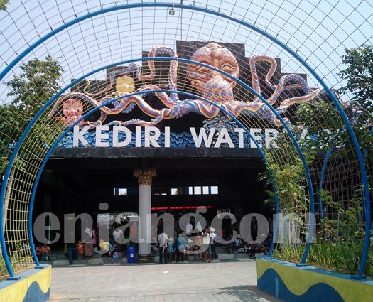 Pintu Gerbang Kediri Waterpark