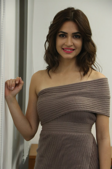 Kriti Kharbanda at Bruce Lee Tamil Movie Press Meet