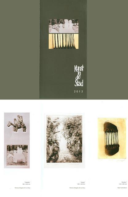 Díptico Kunds in de Stad-Arte en la Ciudad, portada