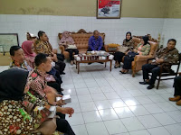 Kunjungan Kerja Komisi A DPRD Sleman Rahayu Widi Chahyani, SH., MM.