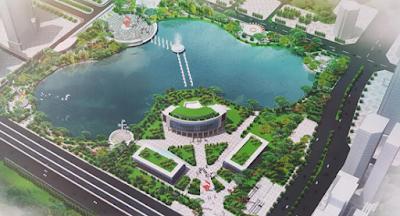 Công viên hồ điều hòa Nhân Chính sẽ hoàn thành vào giữa năm 2017