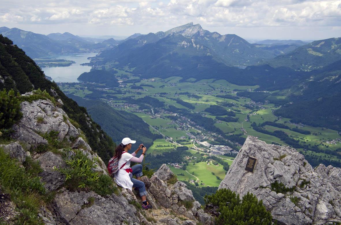 Klettersteig Katrin : Andreas adelmann ©