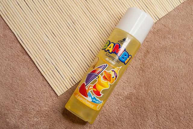 [316.] Najmocniejszy drogeryjny szampon- Bambi dla dzieci