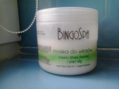 BingoSpa Maska do włosów - Masło Shea (karite) i pięć alg