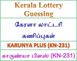 Kerala lottery guessing of KARUNYA PLUS KN-231, KARUNYA PLUS KN-231 lottery prediction, top winning numbers of KARUNYA PLUS KN-231, ABC winning numbers, ABC KARUNYA PLUS KN-231 20-09-2018 ABC winning numbers, Best four winning numbers, KARUNYA PLUS KN-231 six digit winning numbers, kerala lottery result KARUNYA PLUS KN-231, KARUNYA PLUS KN-231 lottery result today, KARUNYA PLUS lottery KN-231, kerala lottery bumper result,