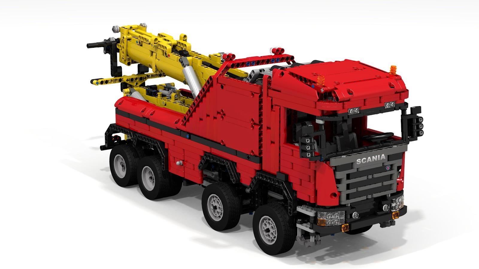 Scania Tow Truck Wrecker Jaaptechnic