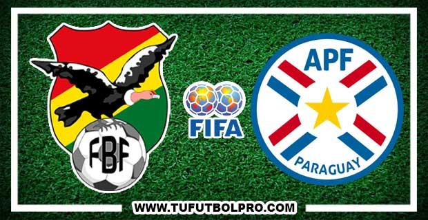Ver Bolivia vs Paraguay EN VIVO Por Internet Hoy 15 de Noviembre 2016