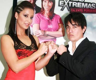 Foto de Leonard León y su ex esposa