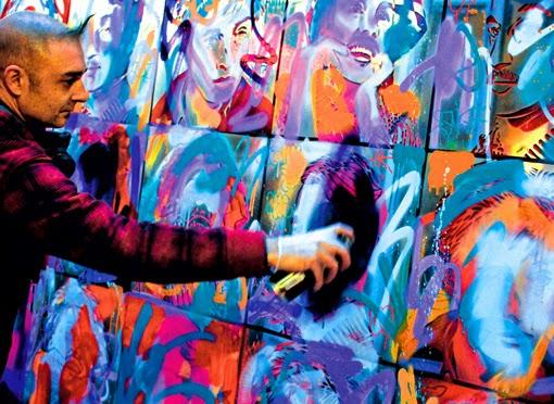 speedy graphito figuration libre street art hotel jules&jim jules et jim Olivier Rizzo paris