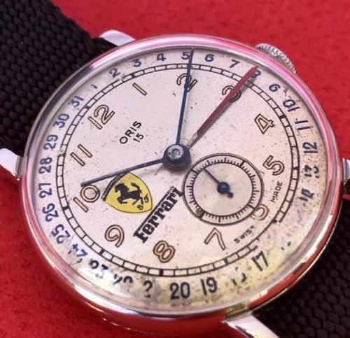 oris ferrari  Deadly Curves: ORIS Ferrari Watch Vintage South American