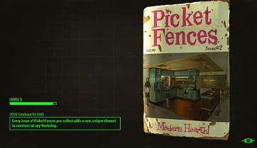Fallout 4, Picket Fences, Magazine