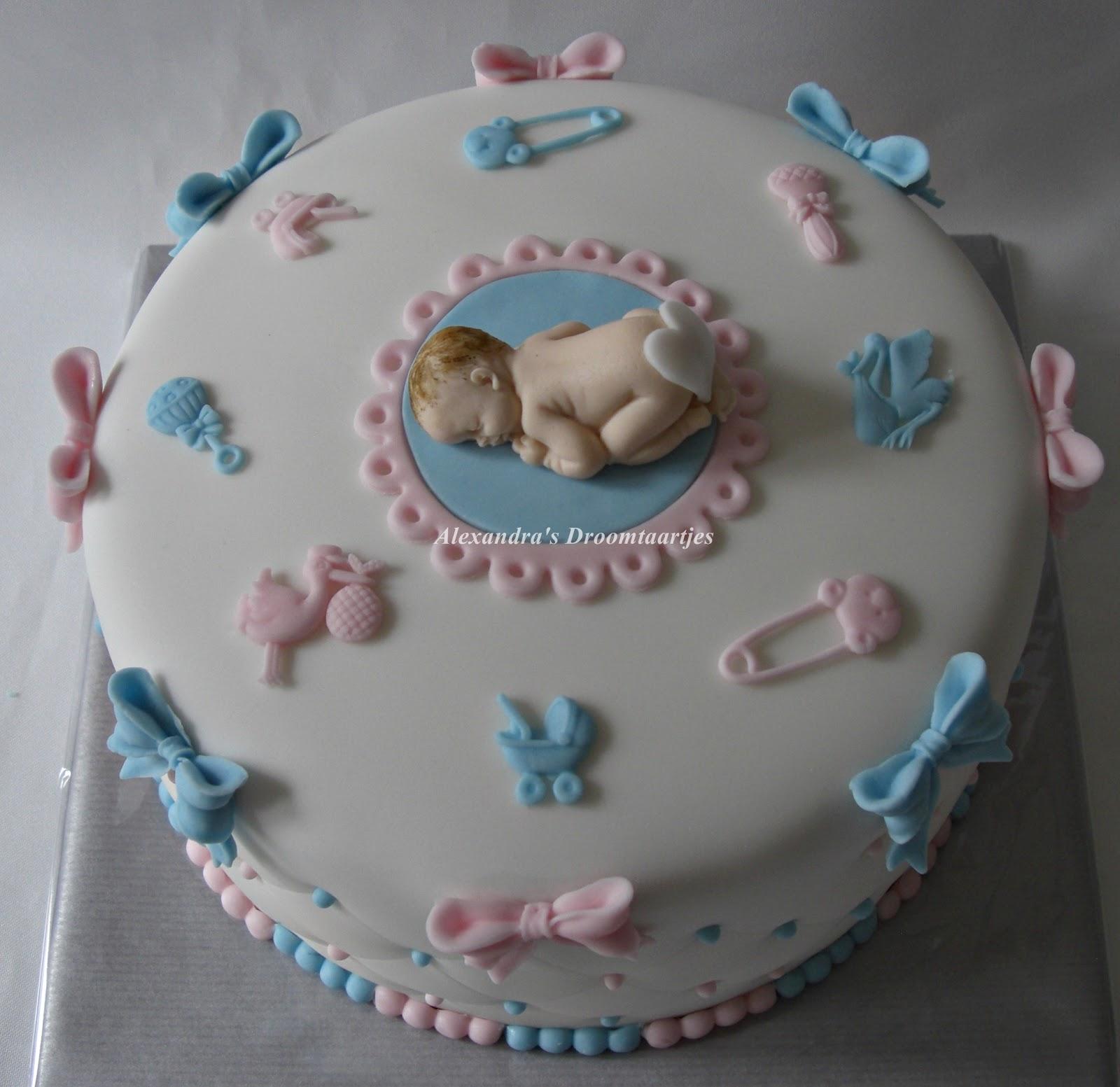 baby taart Baby taart | Alexandra's droomtaartjes baby taart