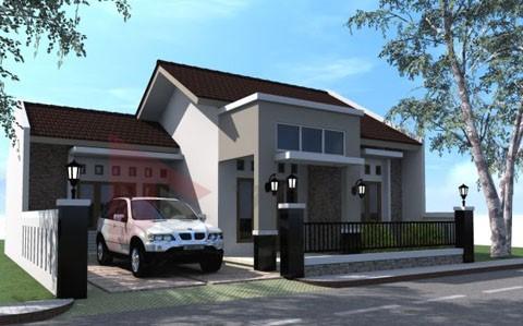 model rumah atap limas 2