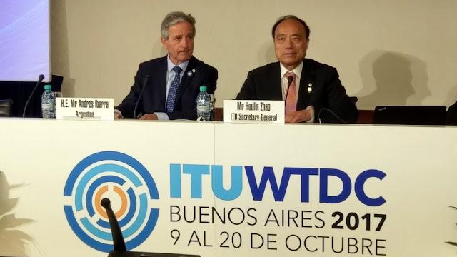 Ibarra anunció las novedades de la Agenda Estratégica Digital en el #CMDT17