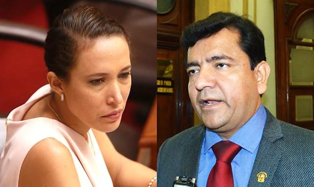 Paloma Noceda formaliza denuncia contra Luis López Vilela