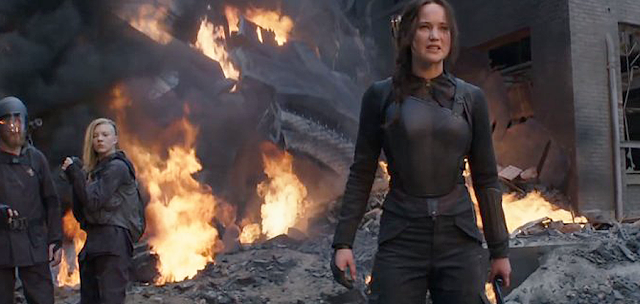 Jennifer Lawrence: The Hunger Games: Mockingjay Part 2