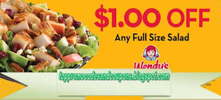 Free Printable Wendys Coupons