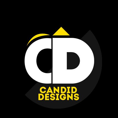 candid designs logo