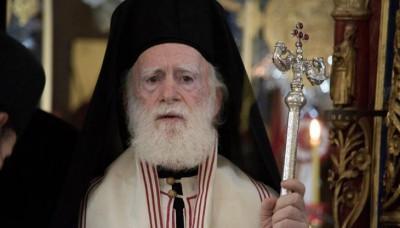 Παρών στο συλλαλητήριο κατά των νέων Θρησκευτικών ο Αρχιεπίσκοπος Κρήτης!