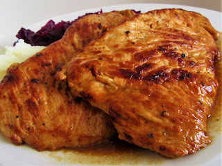 Marinated turkey fillets
