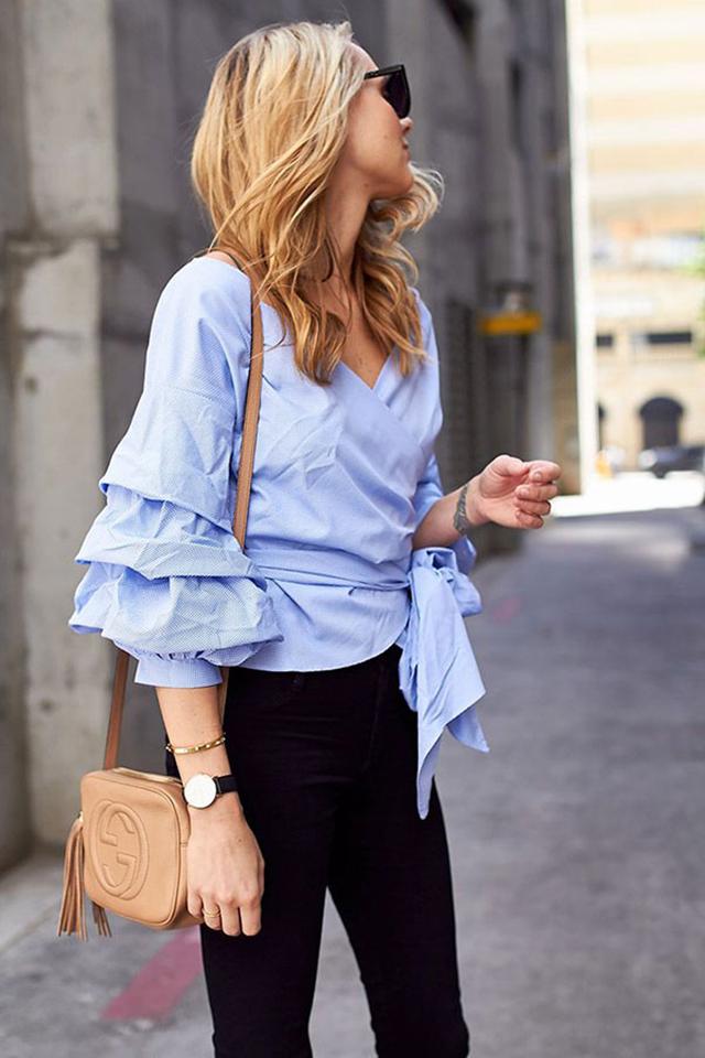 blusa com mangas bufantes, como suar camisa com mangas bufantes, como usar, blog de moda, blog de dicas de moda, blogueira de moda, blogueira de moda em ribeirão preto, fashion blogger em ribeirão preto, digital infuencer, o melhor blog de dicas de moda