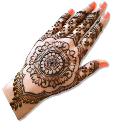 Mandala Mehndi Design
