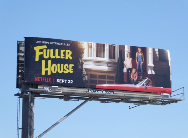 Fuller House season 3 billboard