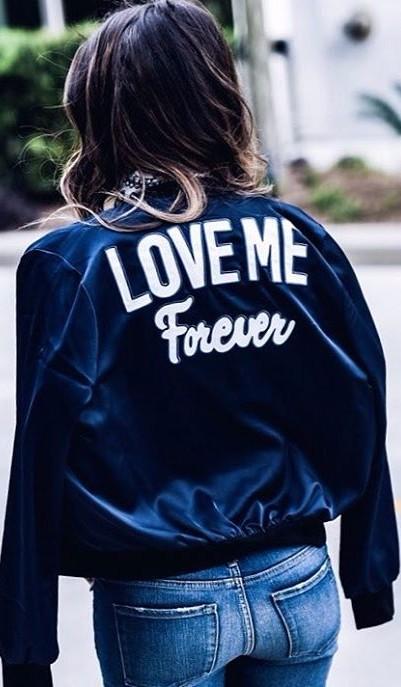 love me forever jacket