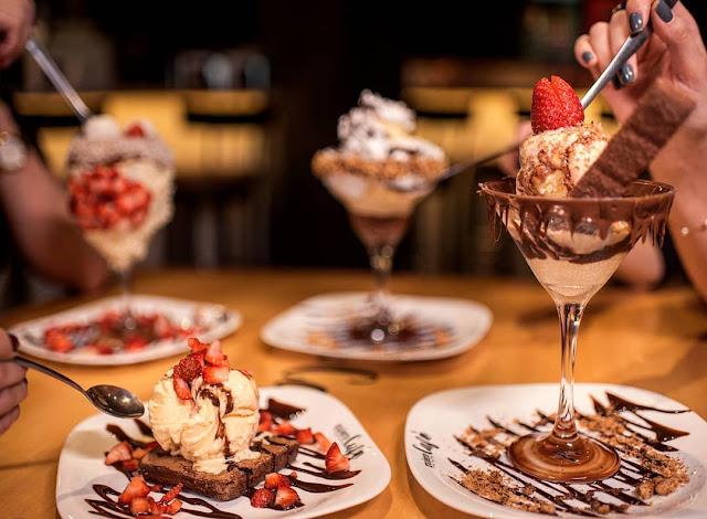 doces maravilhoso do Quiero Café